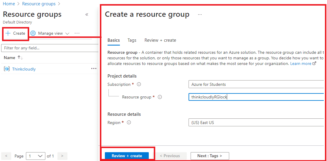azure resource group best practices