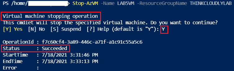 azure powershell list virtual machines